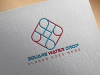 Square Water Drop