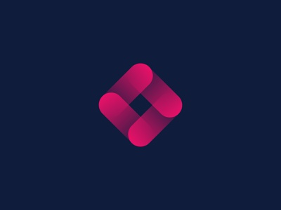 Pink Square square pink icon design logo 3d company logo logo design business logo branding vector logo app logo