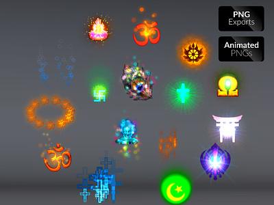 DIVINE FX VOL.01 religion particles mobile games magical fx magic games effects fx energy effects divine
