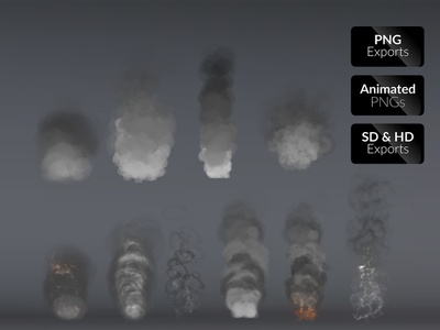 Smoke Effects smoke tail smoke games effects explosions energy effects bundles blast animated action abstracts