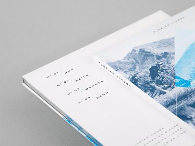 Florian Jindra Lande EP — Detail artwork music minimal typography