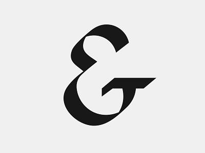 Ampersand  typography broadknib ampersand