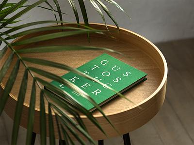 Gustostückerl green clothbound cookbook editorial type