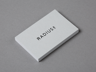 R8 Business Card