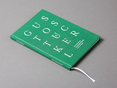 Gustostückerl typography cookbook clothbound print