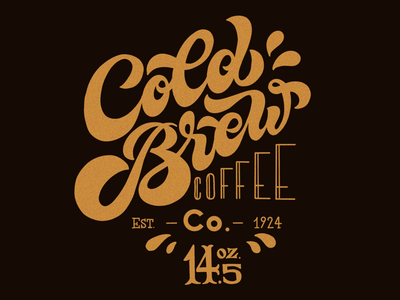 Cold Brew Coffee Co. Label