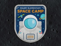 Space Camp Patch