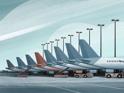 Tails aviation texture tails terminal airport jet airplane plane