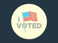 Vote Sticker