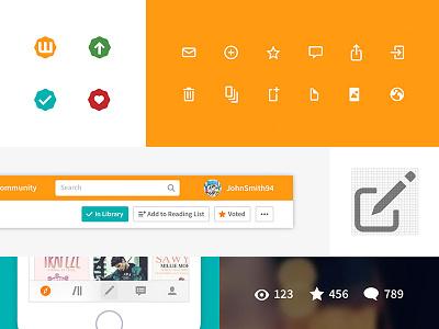 Wattpad Icons wattpad iconography