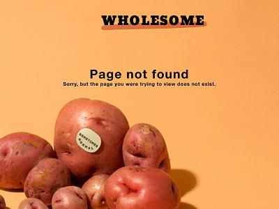404 Page design ux dailyui