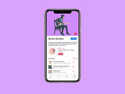 Music Player principle ux design dailyui