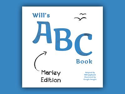 Will's ABC Book book design print childrens book