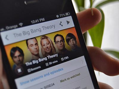 The Big Bang Theory showy shows tv shows app iphone tbbt the big bang theory sheldon