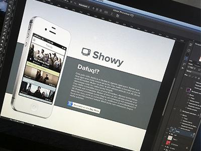 Showy web WIP 1 wip showy showy app web showy