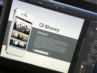 Showy web WIP 1