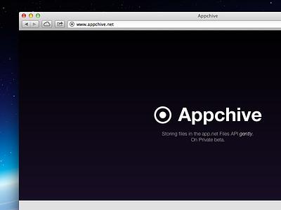 Appchive appchive appdotnet adn app.net webdesign mac mac app