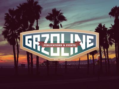 Gazoline typography vector logodesign logo illustrator branding agency branding brand designer