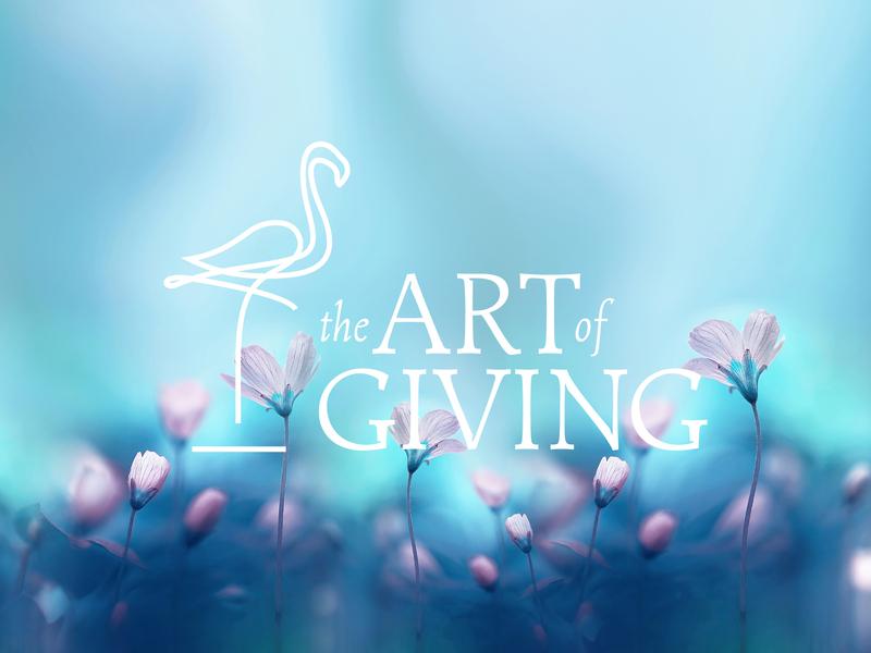 The Art Of Giving #2 logodesign logo vector illustrator branding agency branding brand designer