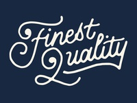 Finest Quality - Stock MFG Co.
