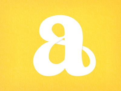 Infinite 'a' lettering type a infinite typeworship
