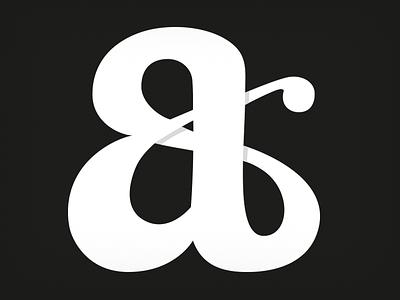 Infinite '&' lettering type typeworship ampersand