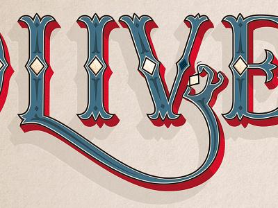 Oliver! Gotta pick-a-pocket or two typography illustration lettering graphic design branding
