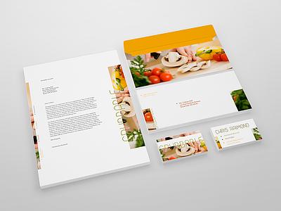 Grubbable - Identity grubbable identity food letterhead business cards branding