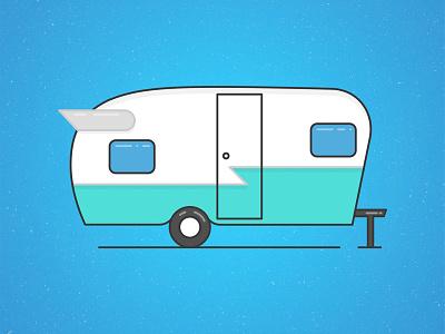 Camper Illustration camper illustration