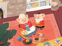The Piglet Family