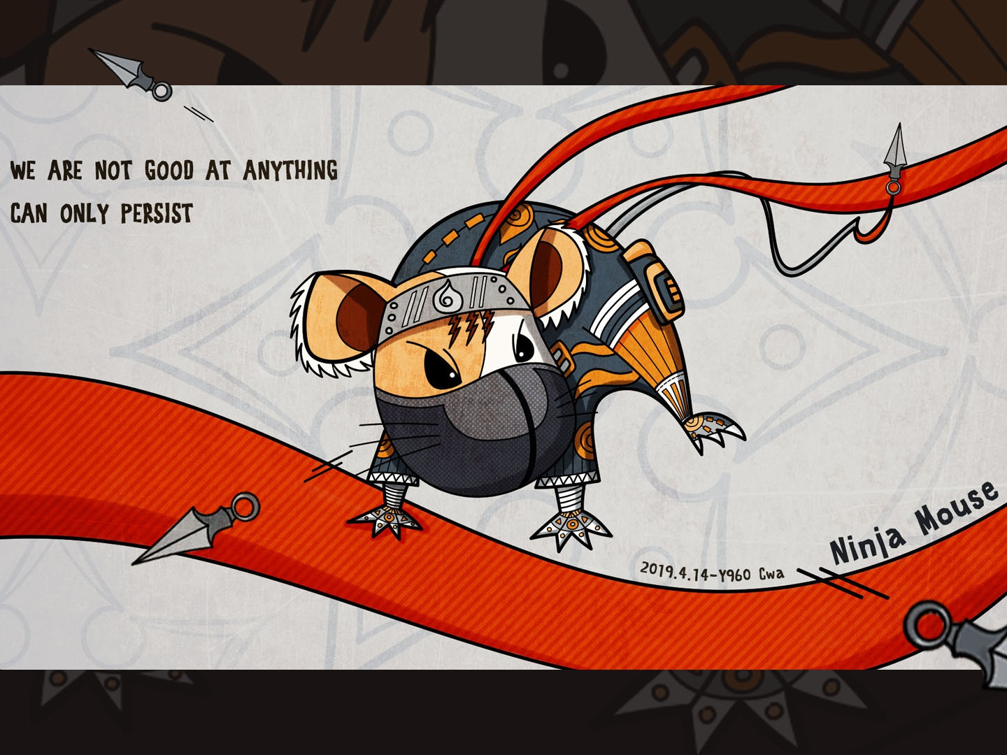 Ninja Mouse by Cwa on Dribbble