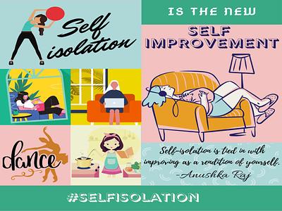 SelfIsolation design illustration