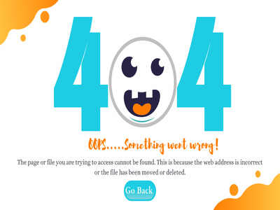 Creative 404 Error Page art illustration website web ux ui typography design