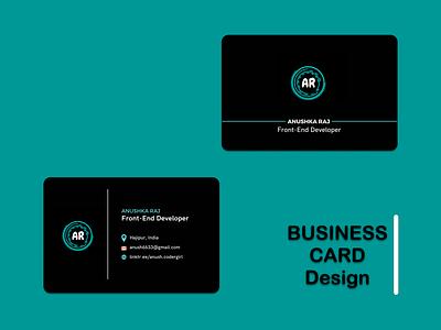 Business Card businesscard business card design typography design