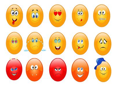 Emojies art emojis illustration design