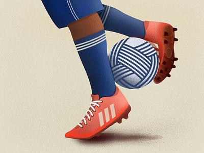 Soccer football soccer adobe illustration sports art illustration adobe illustrator adobe adobe photoshop