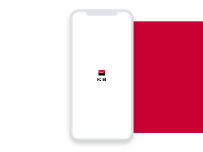 Mobile Banking - Splash screen logo ios splashscreen login design flat ui banking app mobile ui mobile animation app