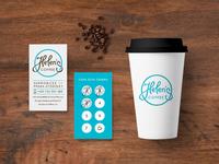 Helen's Coffee Branding