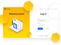 PPC Bee - Log in page