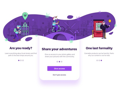 Onboarding illustrations