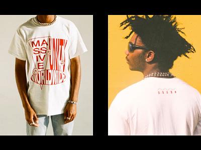 Massive Unity Worldwide human rights unity reggae punk tshirt