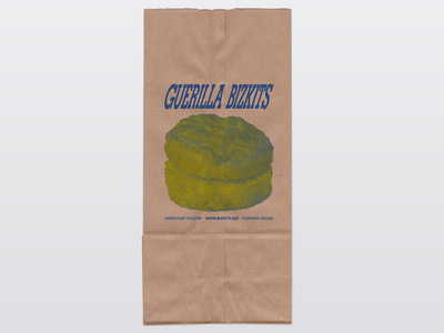 Delivery Bag small business texture risograph vegan hardcore punk