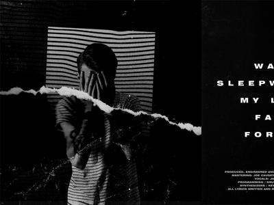 Album Art design typography texture scanned glitch music album art