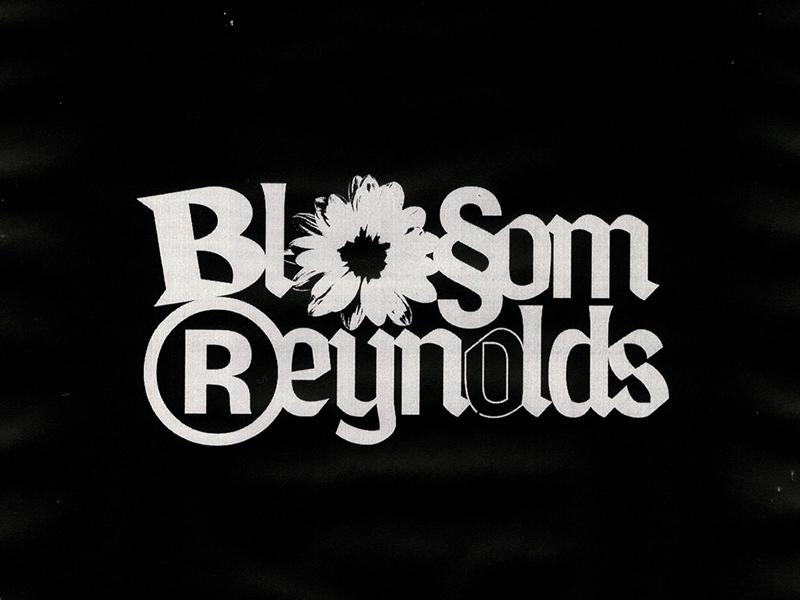 Blossom Reynolds music typography logo design logo