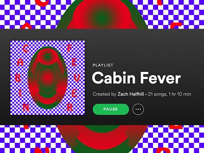 Playlist Cover playlist album art checkerboard spotify music gradient