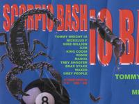 Scorpio Bash Poster