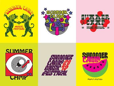 Summer Camp Music Fest drugs typography tshirt merch music summer festival