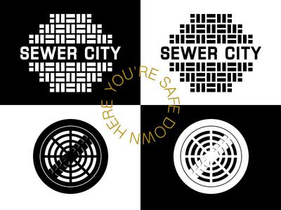 Sewer City — Branding