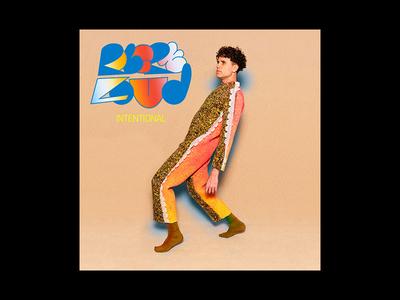 'Intentional' Single cover photography gradients custom type album art