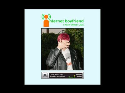 'I Know' Single Cover nostalgia myspace album art